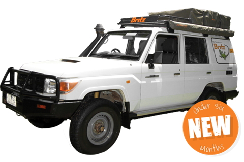 Landcruiser Safari Campervan Hire