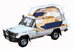 2 Berth 4wd Bushcamper Hire In Australia Amp New Zealand